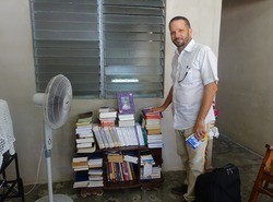 Boekenverspreiding op Cuba